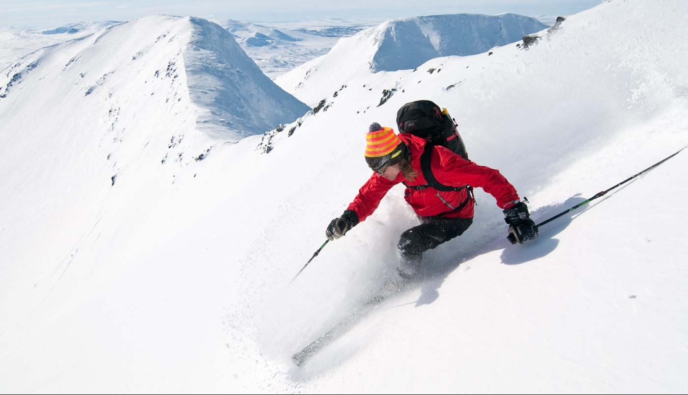 Dynafit ski touring camp in Sylarna