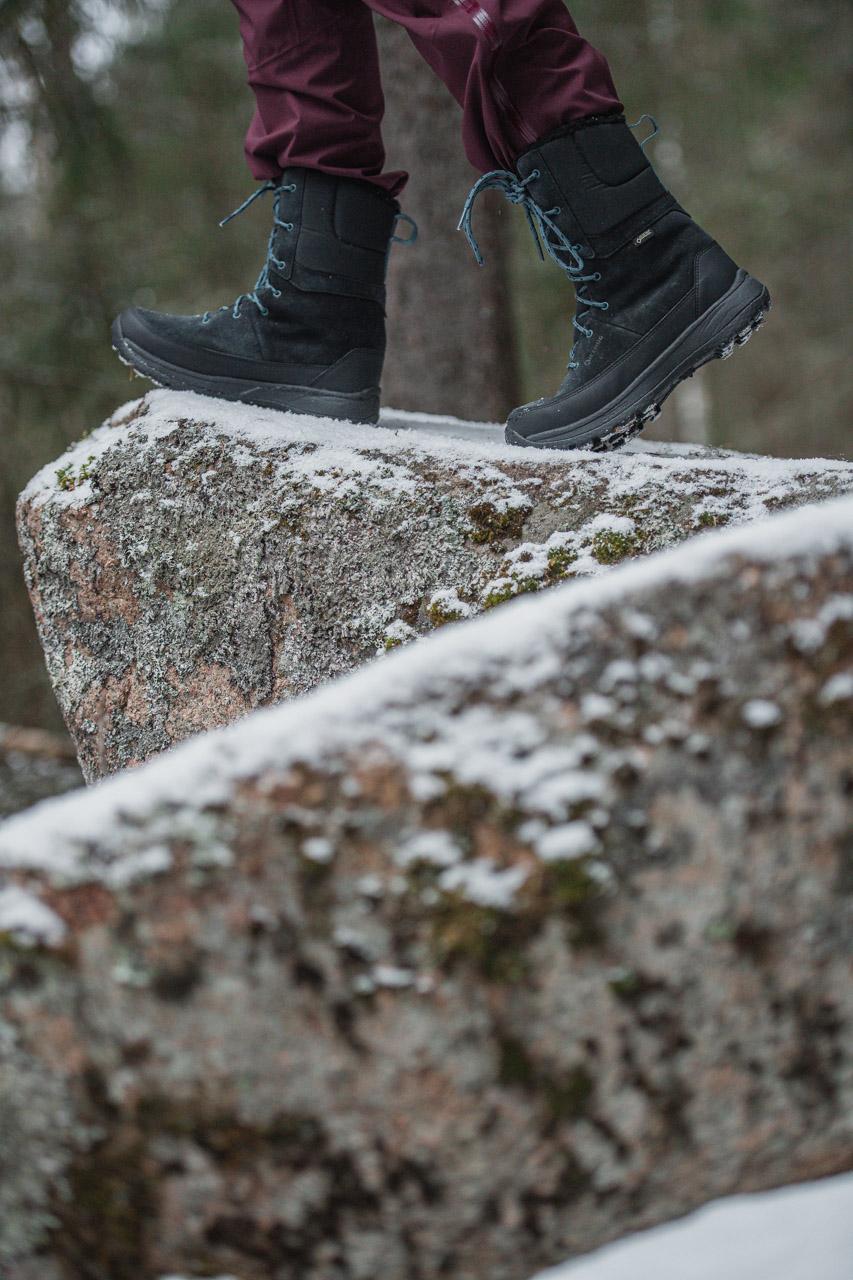 Produktfoto skor vinter