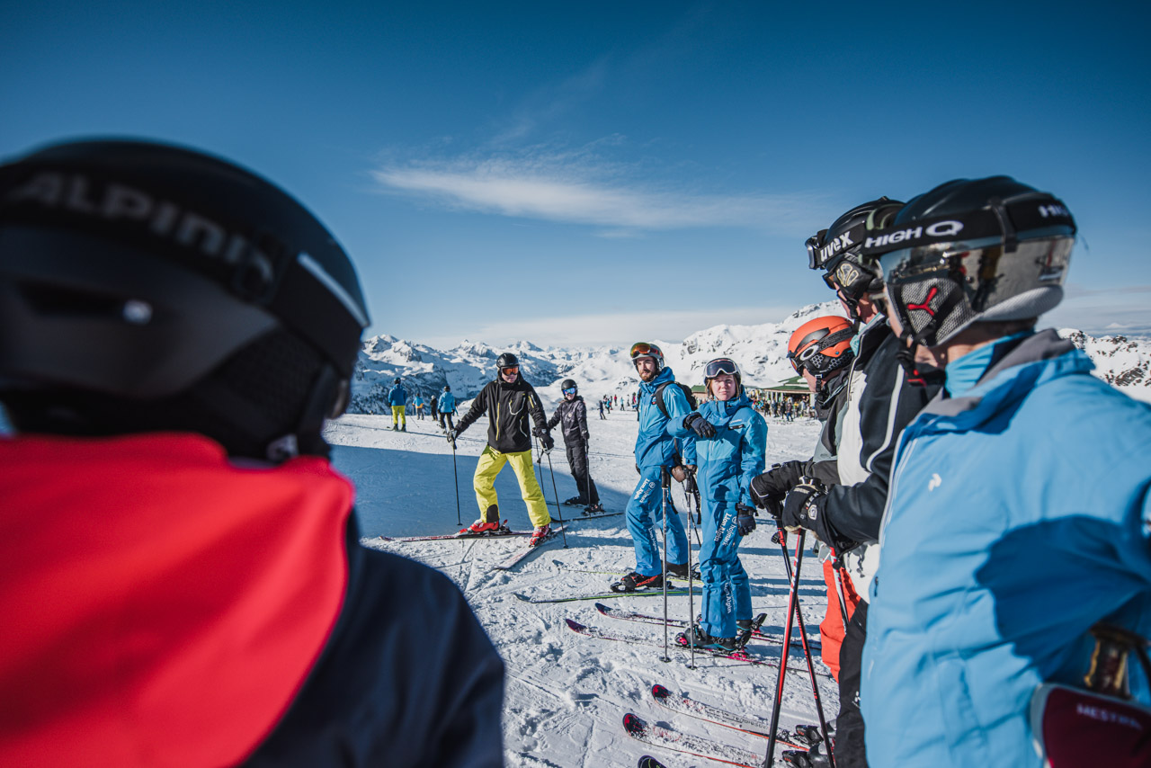 Skidåking Lionalpin alperna Obertauern