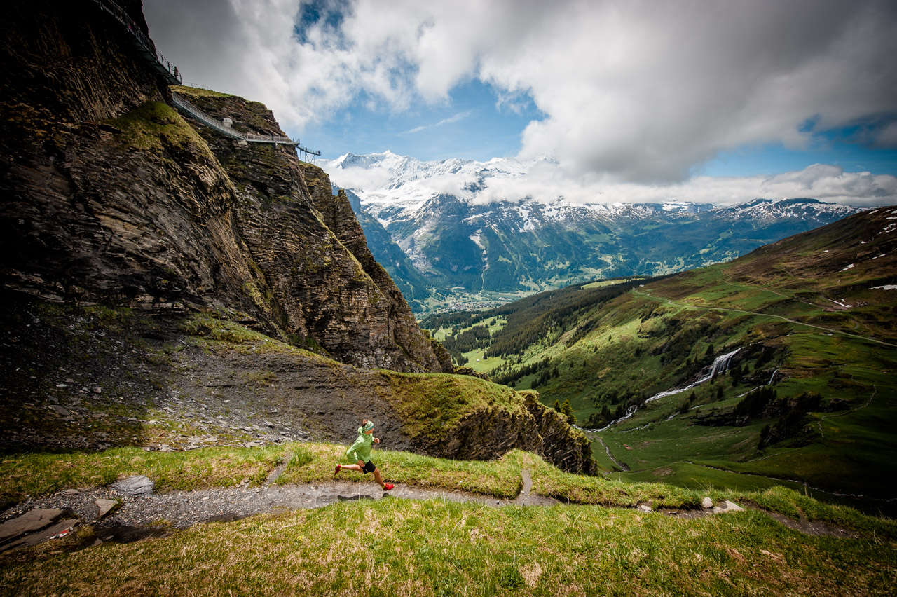 Trailrunning Swiss Alps Grindelwald Jungfrau Valley