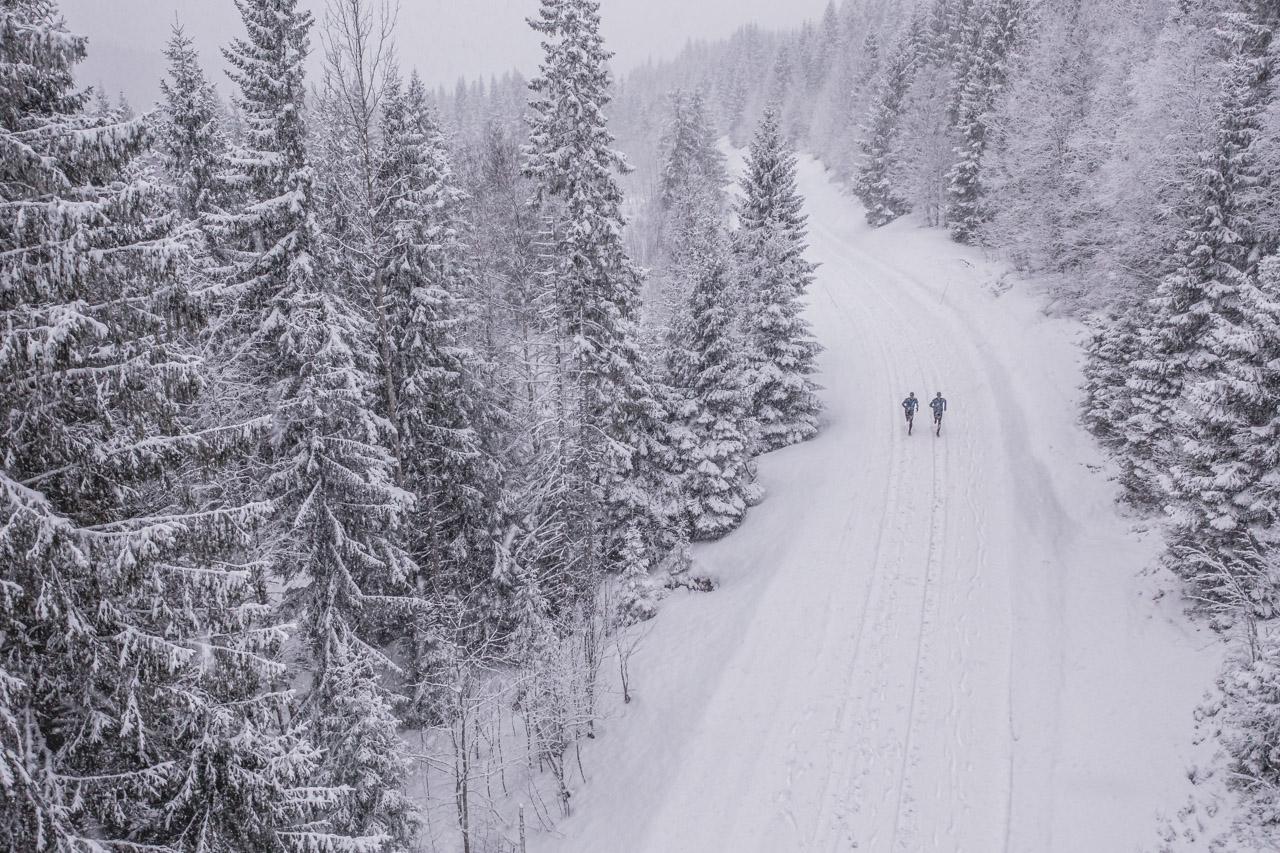 Running winter vinterlöpning