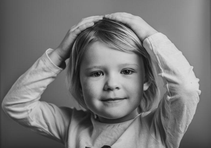 porträtt studio barnfoto greenscreen